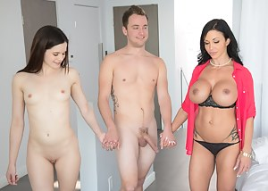 Hot Moms Threesome Porn Pictures